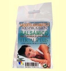 Saquito aromático efecto balsámico - Eucaliptus - Aromalia