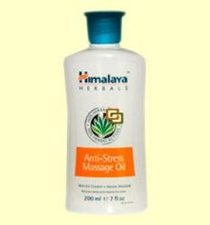 Aceite de Masaje Anti-Stress - Himalaya Herbals - 200 ml +