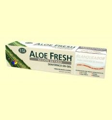 Dentífrico Gel Aloe Fresh Blanqueador - Laboratorios ESI - 100 ml