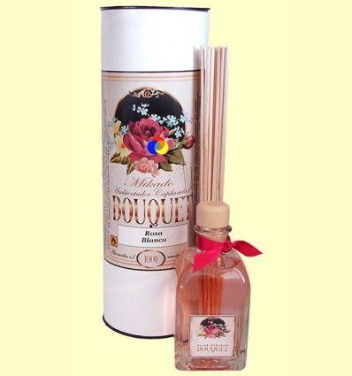 Mikado Ambientador Capilaridad Bouquet Rosa Blanca - Aromalia - 100 ml
