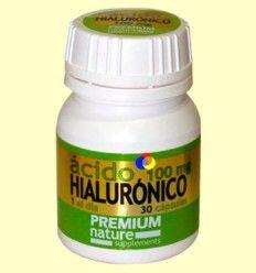 Ácido Hialurónico Premium Nature - Pinisan - 30 cápsulas