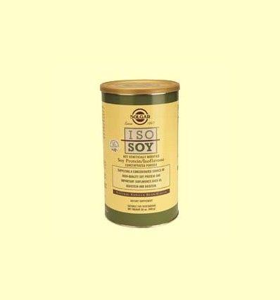 Iso-Soy - Sabor vainilla en polvo - Solgar - 568 gramos