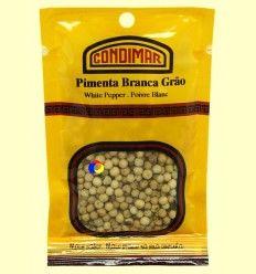 Pimienta blanca en grano - Condimar - 20 gramos