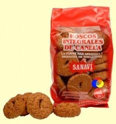 Roscos Integrales de Canela - Sanavi - 400 gramos