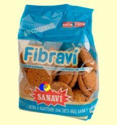 Galletas Fibravi - Integrales y con Fibra - Sanavi - 300 gramos