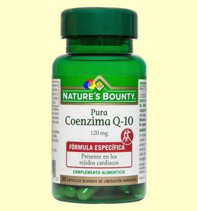 Coenzima Q-10 Pura 120 mg - Nature's Bounty - 30 perlas *