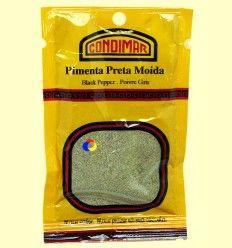 Pimienta negra molida - Condimar - 18 gramos