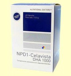 NPD1 - Celavista DHA 1000 - Nutritional Doctors - 60 cápsulas