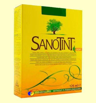 Tinte Sanotint Light - Castaño Dorado 75 - 125 ml