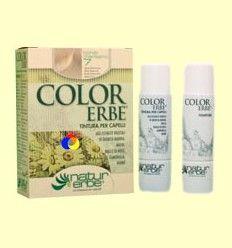 Tinte para el cabello Color Erbe 07 Rubio Clarísimo - Natur Erbe - 135 ml