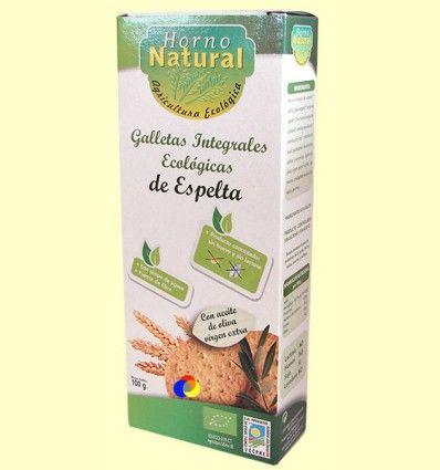 Galletas Integrales Ecológicas de Espelta - Horno Natural - 100 gramos