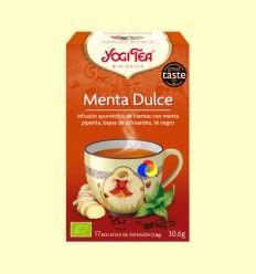 Menta Dulce - Yogi Tea - 17 bolsitas de infusión