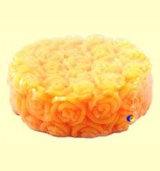Jabón con Crema y Glicerina Natural Jardín Amarillo - Aroma Essence - 85 gramos
