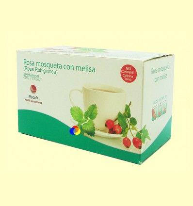 Infusión de Rosa Mosqueta con Melisa - Mycofit - 20 infusiones