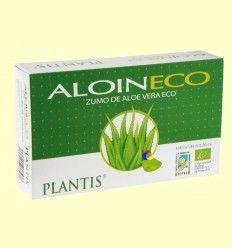 Aloin - Zumo de Aloe Vera - Plantis - 20 ampollas