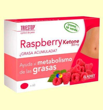 Raspberry Ketone 800 mg - Triestop - Eladiet - 60 comprimidos