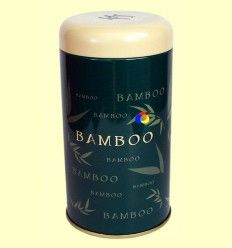 Lata para guardar Té - Bamboo Verde Oscuro