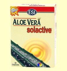 Aloe Vera Solactive Cápsulas - Melanina - Laboratorios ESI - 30 cápsulas