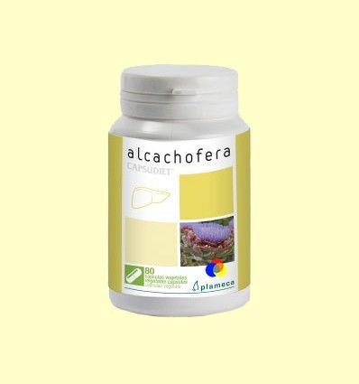 Capsudiet Alcachofera - Plameca - 80 cápsulas