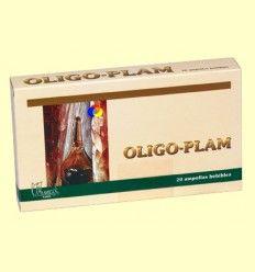 Oligo-Plam Nº 7 Turmalina - Plameca - 20 ampollas bebibles