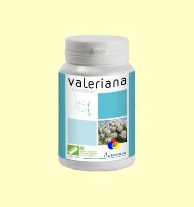 Capsudiet Valeriana - Plameca - 80 cápsulas