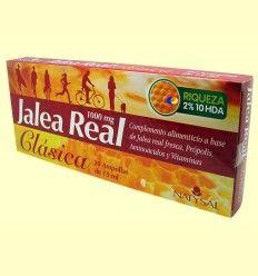 Jalea Real Clásica - 1000 mg - Natysal - 20 ampollas
