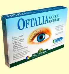 Oftalia Gotas Oculares - Naturando - 10 monodosis