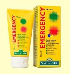 Emergency - Crema calmante para irritaciones - Naturando - 50 ml