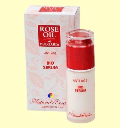 Bio Serum Anti Age Rose Oil of Bulgaria - Biofresh Cosmetics - 45 ml