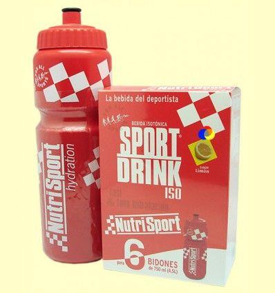 Sport Drink ISO - Bebida Isotónica - Nutrisport - 6 bidones