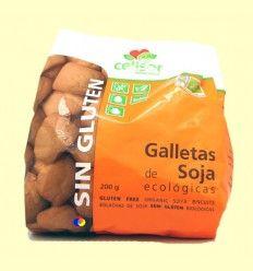 Galletas de Soja Ecológicas Sin Gluten Celisor - Soria Natural - 200 gramos