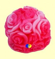 Jabón Rosa en forma de Bola - Rosa pálido e intenso - Biofresh Cosmetics - 30 gramos