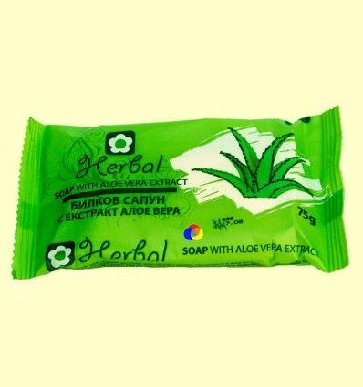 Jabón Herbal Soap Aloe Vera - Biofresh Cosmetics - 75 gramos