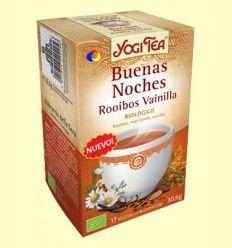 Buenas Noches Rooibos Vainilla - Yogi Tea - 17 bolsitas de infusión