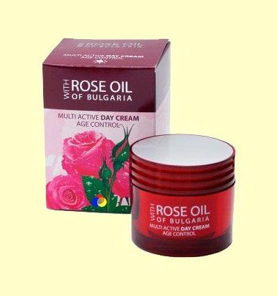 Crema de Día Multi Activa Age Control Filtro UV - Biofresh Regina Roses - 50 ml