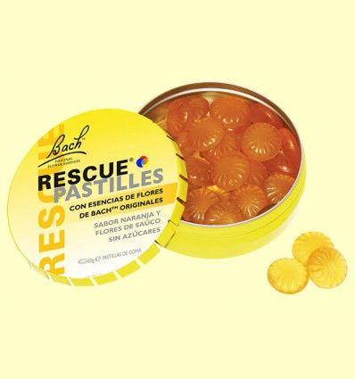 Bach Rescue Pastillas - Naranja y Flor de Saúco - Bach - 50 gramos