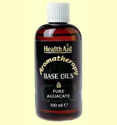 Aceite Base de Aguacate - Avocado - Health Aid - 100 ml