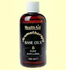 Aceite base de Avellana - Hazel nut - Health Aid - 100 ml.