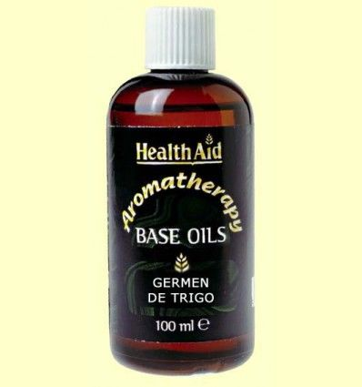 Aceite base de Germen de trigo - Wheat germ - Health Aid - 100 ml