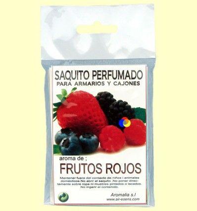 Saquito perfumado - Aroma Frutos Rojos - Aromalia - 1 saquito
