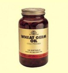 Aceite de Germen de trigo - Solgar - 100 cápsulas blandas *