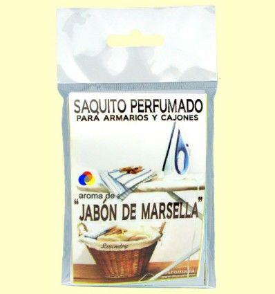Saquito perfumado - Aroma Jabón de Marsella - Aromalia - 1 saquito