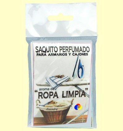 Saquito perfumado - Aroma de Ropa Limpia - Aromalia - 1 saquito