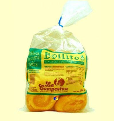 Bollitos Integrales Sin Azúcar Añadido - La Campesina - 250 gramos
