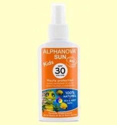 Protector Solar Ecológico SPF 30 Kids - Alphanova - 125 gramos