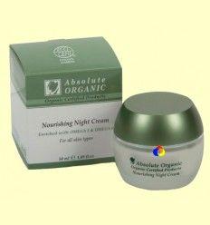 Crema de Noche Nutritiva Bio - Absolute Organic - 50 ml +