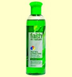 Gel de baño Aloe y Ylang Ylang - Faith in Nature - 250 ml