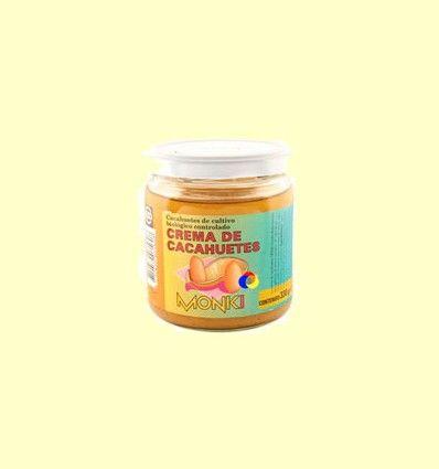 Crema de cacahuetes Bio - Monki - 330 gramos