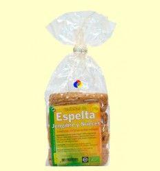 Galletas de espelta con jengibre y nueces Bio - BioSpirit - 175 gramos