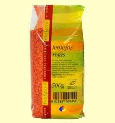 Lentejas rojas Bio - BioSpirit - 500 gramos